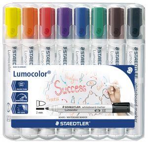STAEDTLER Lumocolor Whiteboard Marker 351 8er Etui