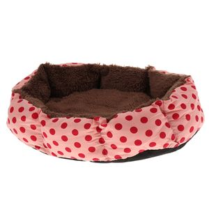 Hundebett Katzenbett Hundekorb mit abnehmbarem Kissen für Hunde und Katzen, 36x29x10cm