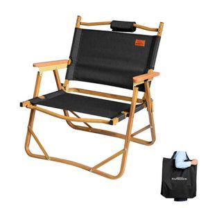 Campingstühle klappbarer Holzstuhl Ultraleichter Freizeitstuhl Nap Beach Chair