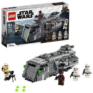 LEGO 75311 Star Wars Imperialer Marauder, Bauset Für Kinder Ab 8 Jahren, Mandalorian-Modell Mit 4 Minifiguren, Geschenkidee
