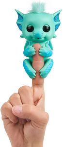 WowWee 3582 - Fingerlings - Glitzer-Babydrache Noa, türkis