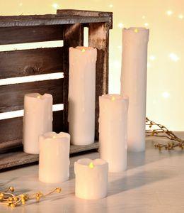 LED Kerzen 6er Set flammenlos