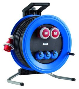 HEDI K4003011D Kabeltrommel Professional Plus 320,  leer, blau ***NEU***