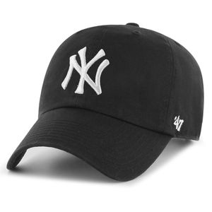 47 Brand RGW17 Clean Up Strapback NY YANKEES Schwarz, Size:Onesize