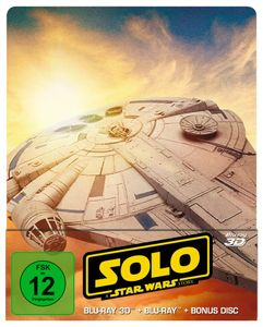 Blu-Ray 3D - Solo: A Star Wars Story