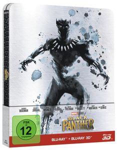 Black Panther - Limitierte Steelbox [3D Blu-ray]