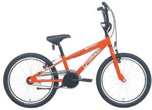 Bike Fun Kinder BMX Cross Tornado 20 Zoll 26 cm Junior Rücktrittbremse Rot