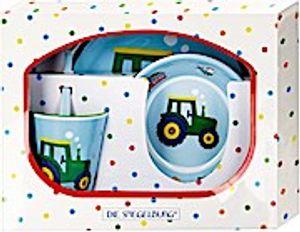 Die Spiegelburg Geschenkset Melamin Traktor