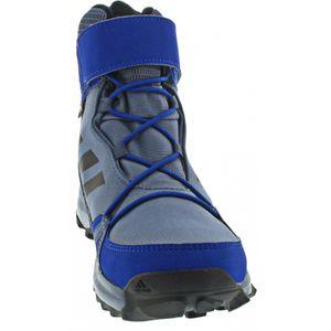 Adidas Terrex Snow CF C Jungen Klettstiefel in Blau, Größe 6