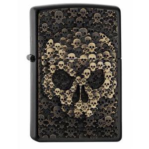 Zippo Skull in Skull Emblem