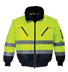 Arbeitskleidung PORTWEST PJ50 gelb Warnschutzjacke M