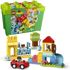 LEGO 10914 DUPLO Classic Deluxe Steinebox Bauset, Aufbewahrungsbox, erste Steine, Lernspielzeug für Kleinkinder im Alter von 1,5 Jahren