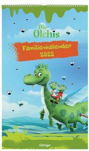 Oetinger Verlag Die Olchis - Familienkalender 2022