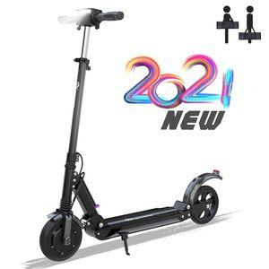 MARKBOARD 8-Zoll Klappbar Elektroscooter , Anti-Rutsch-Reifen und LCD-Bildschirm |mit Tasche|7.5Ah Akku| Bis 30 km/h und 350 Watt Motor schwarz|E-Scooter Elektroroller Cityroller Electric Scooter  E-Bikes Erwachsene
