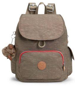kipling Basic Eyes Wide Open City Pack S Backpack True Beige Combo