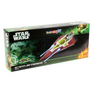 Revell Kit Fisto's Jedi Starfighter, Montagesatz, Raumflugzeug, Anfänger, 34 Stück(e), 8 Jahr(e), Mehrfarben