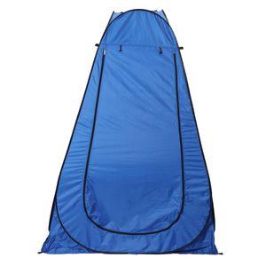 1,86m Toilettenzelt Duschzelt Camping Zelt Umkleidezelt Dusche Zelt mit Tragetasche, Farbe: Blau