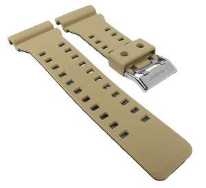 G-Shock Armband   für GA-100 Replacement Band beige/schwarz