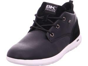 BRITISH KNIGHTS Calix Herren High-Top Sneaker Schwarz Schuhe, Größe:42