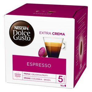Nescafé Dolce Gusto Espresso, Kapseln, Kaffeekapsel, Café, Coffee, Kaffee, 16 Kapseln