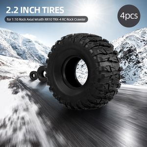 4pcs 2,2 Zoll 133mm 1/10 RC Rock Crawler Reifen fuer 1:10 Rock Axial Wraith RR10 TRX-4 RC Rock Crawler Jeep Truck