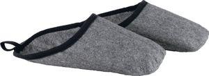 Filzüberschuhe Ludwig L (41-46) grau-meliert 100% Polyesterfilz 1 PA