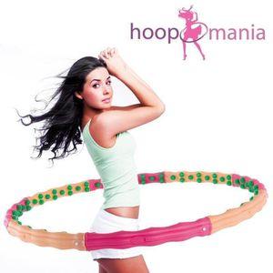 Hoopomania Large Hoop, Hula Hoop mit 96 Magneten, 1.8kg