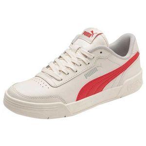 Puma Caracal Whisper White / High Risk Red / Puma Silver EU 36