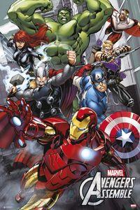 The Avengers Poster Marvel Comics