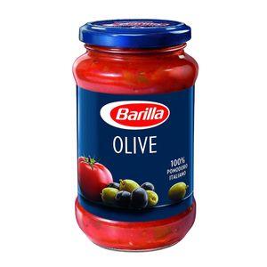 Barilla Pasta Sauce Olive Italienische Tomaten und feinste Oliven 400g