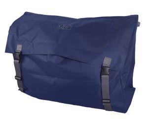QHP Stall Packsack Boxentasche für Decken und Pflegeartikel in Navy / Grau