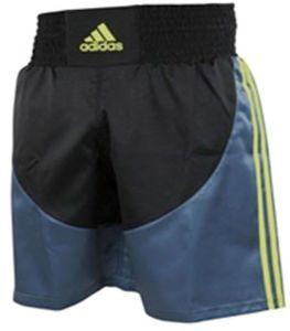 adidas Multi Boxing Short Gelb/Schwarz-XXS