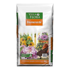0,14€/l Blumenerde 70l Pflanzerde Gartenerde 70 Liter Pflanzenerde