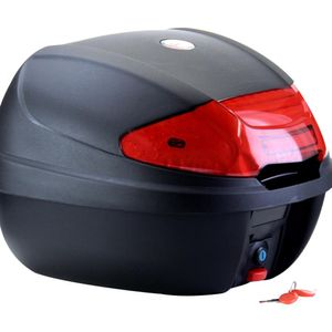 CMX TopCase Motorradkoffer mit extragroßem Reflektor - 38 Liter