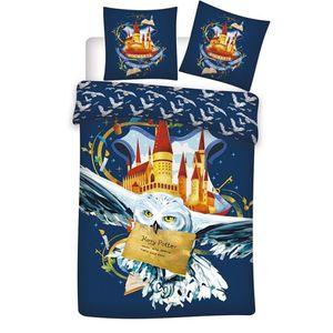 Harry Potter Kinder Bettwäsche Mikrofaser 2tlg Set 135-140x200 Sommer Eule