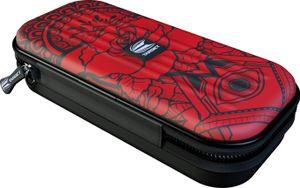HF Target Takoma Ink Red Wallet Darttasche für 3 Darts und Zubehör Dunkelrot