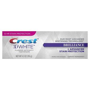 Crest-3D White Brilliance Whitening Zahnpasta - Lebendige Pfefferminze