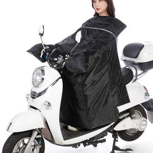 Elektrische Motorrad Windschutzscheibe Winter Plus Samt Verdickung Universal Grosse Fluegel Roller Waermer, Erhoehen Batterie Auto Strassenbahn Winddicht Waerme