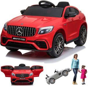 Mercedes-Benz GLC 63S AMG Coupe Kinderauto Kinderfahrzeug Kinder Elektroauto Rot
