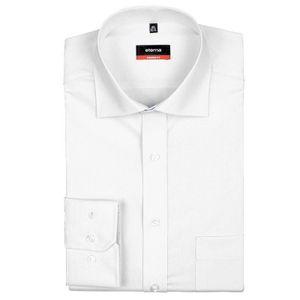 Eterna Modern Fit Hemd Langarm Popeline Weiß 1100/00/X187, Größe: 40