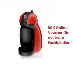 Krups KP1006 Dolce Gusto PICCOLO rot