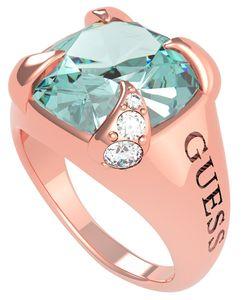 Guess UBR20029 Damen-Ring Edelstahl roségold Lady Luxe, 56/17,8