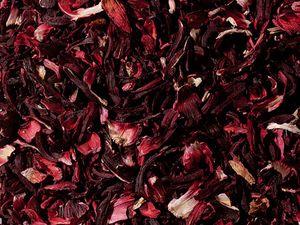 1 kg - Hibiskusblüten, geschnitten