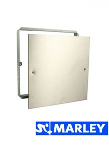 Marley Niro Abdeckplatte Edelstahl Revisionsabdeckung 25x25cm Revisionsabdeckplatte