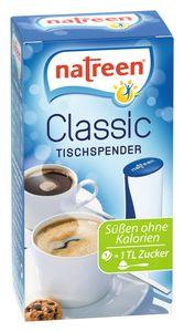NATREEN Süßstoff Classic 1x500 Tabletten Tischspender feine Süße Tafelsüße