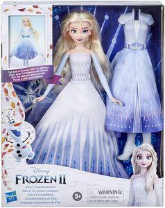 Disneys - Die Eiskönigin 2 - Elsas Verwandlung, Modepuppe mit 2 Outfits und 2 Frisuren