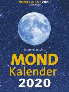 Bassermann Mondkalender - 1 Tag / 1 Seite, 14 x 19,5 cm