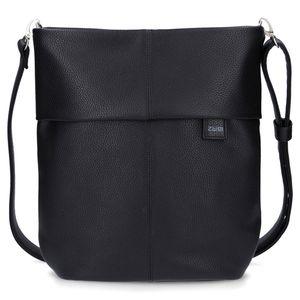 ZWEI Umhänge Tasche MADEMOISELLE M12 , Farbe:schwarz