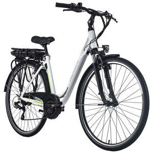 Pedelec E-Bike Cityfahrrad 28'' Adore Versailles weiß-grün Adore 111E