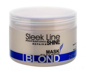 STAPIZ Sleek Line Maske mit Seide Blond 250 ml